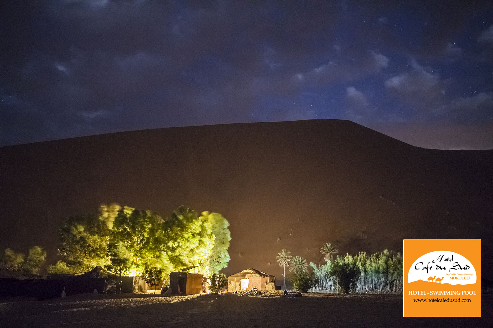 DESERT CAMP - SAHARA TOUR MOROCCO
